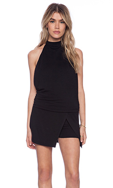 Riller & Fount Rafael Romper in Black