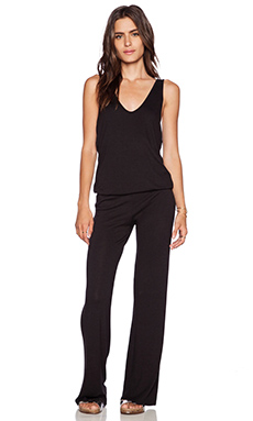 Riller & Fount Jackson Jumpsuit in Coal