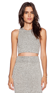 Riller & Fount Silva Crop Top in Pebble
