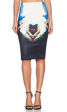 Ringuet Clarissa Midi Skirt in Multi