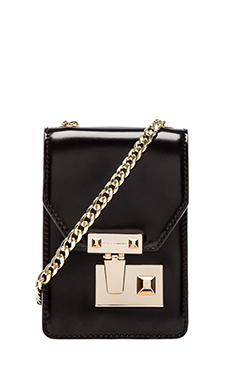 Rebecca Minkoff Paris Phone Bag in Black
