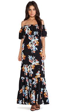 Rebecca Minkoff Dev Maxi Dress in Multi