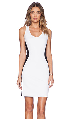Rebecca Minkoff Elle Dress in White & Black