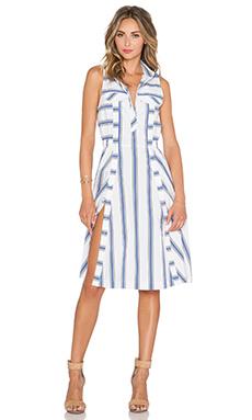 Rebecca Minkoff Nadine Dress in Santorini Blue