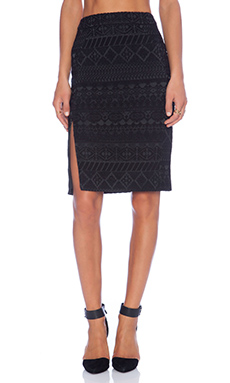 Rebecca Minkoff James Skirt in Black