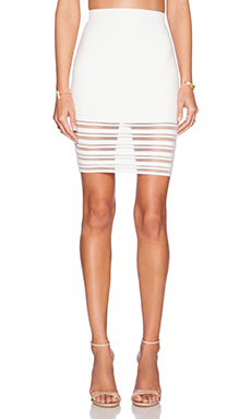 Rebecca Minkoff Petra Skirt in Marshmallow