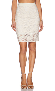 Rebecca Minkoff Angelica Skirt in Marshmallow
