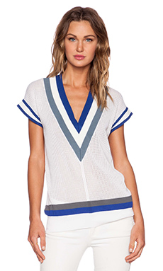 Rebecca Minkoff Ali Top in White