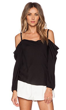 Rebecca Minkoff Ryan Top in Black