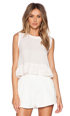 Rebecca Minkoff Tanya Top in Pale Pink