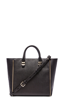 Rebecca Minkoff Mini Perry Tote in Black