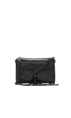 Rebecca Minkoff Mini MAC in Black/Black
