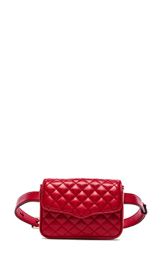 Rebecca Minkoff Affair Fanny Bag in Crimson