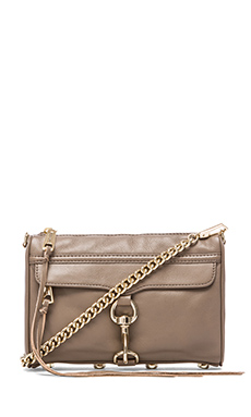 Rebecca Minkoff Mini MAC in Taupe