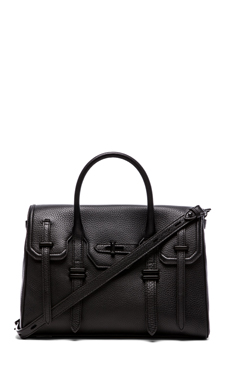 Rebecca Minkoff Jules Satchel in Black