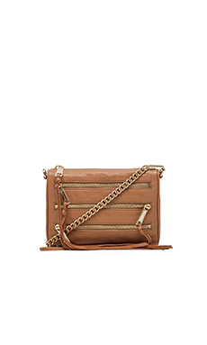 Rebecca Minkoff Mini 5 Zip in Fatigue