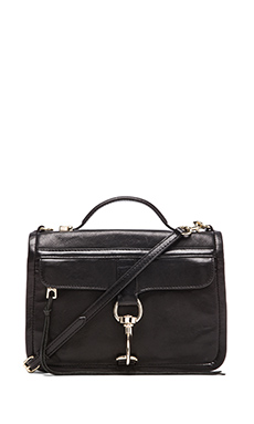 Rebecca Minkoff Bowery Crossbody in Black