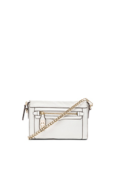 Rebecca Minkoff Mini Crosby Crossbody in White
