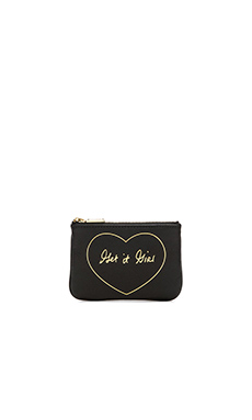 Rebecca Minkoff Get It Girl Cory Pouch in Black