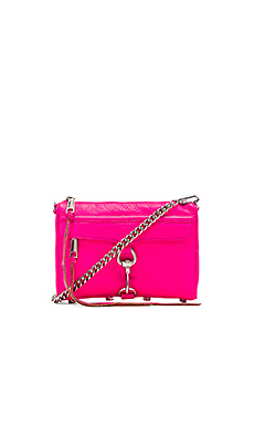 Rebecca Minkoff Mini MAC in Electric Pink