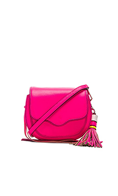Rebecca Minkoff Mini Sydney Crossbody in Electric Pink