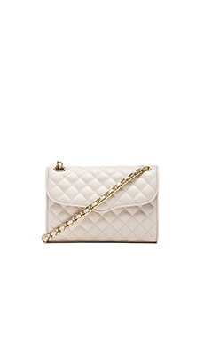 Rebecca Minkoff Quilted Mini Affair in Seashell