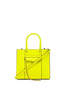 Rebecca Minkoff Mini MAB Tote in Electric Yellow