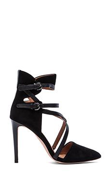 Rebecca Minkoff Raz Heel in Black