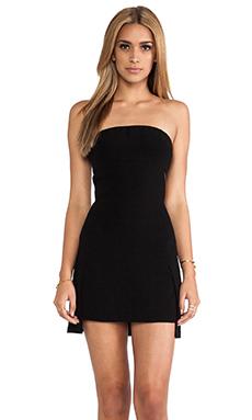 Robert Rodriguez Crepe Cutout Dress in Black