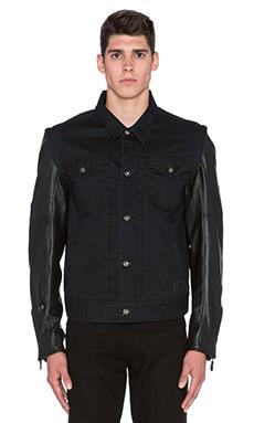 Roland Sands Design Honcho Jacket in Indigo & Black