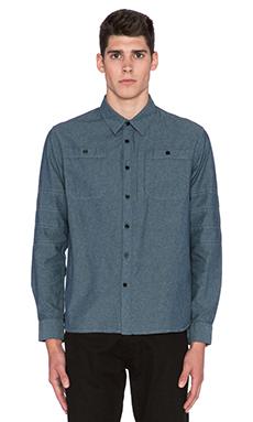 Roland Sands Design Wyatt Shirt in Blue