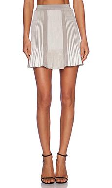 Ronny Kobo Mari Skirt in Light Grey Multi