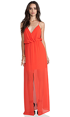 Rory Beca Andres Maxi Dress in Tangelo