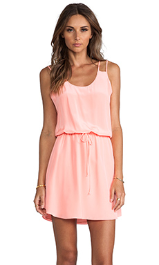 Rory Beca Contra Dress in Cantaloupe