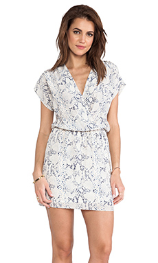 Rory Beca Rica Wrap Dress in Blue Champagne