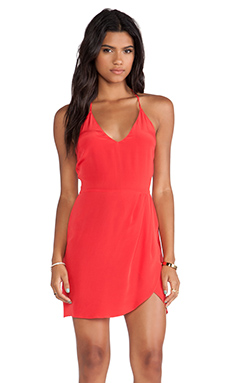 Rory Beca Stereo Fitted Dress in Sin