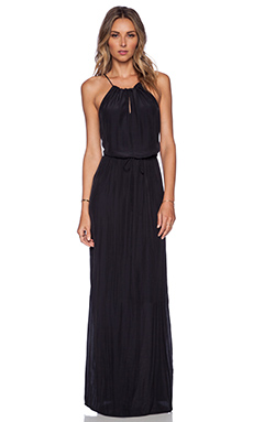 Rory Beca Lauren Maxi Dress in Onyx
