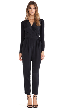 Rory Beca Murphys Jumpsuit in Onyx