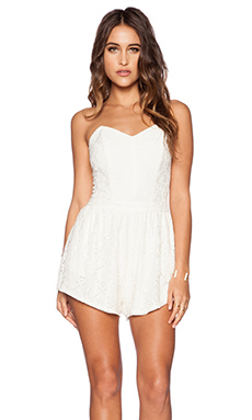 Rory Beca Drina Romper in Cream