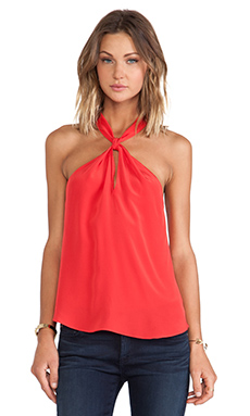 Rory Beca D.O.A Halter Tank in Sin