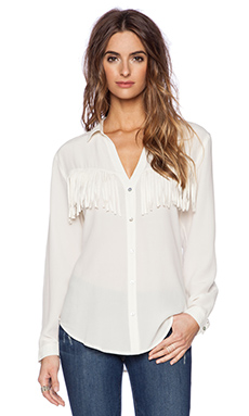 Rory Beca Jaycee Shirt in Cream