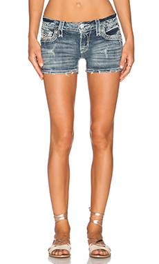 Rock Revival Clover Short in H8