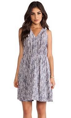 Rebecca Taylor Summer Rain Dress in Graphite Combo
