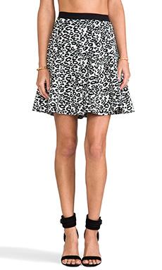 Rebecca Taylor Leo Flip Skirt in Black