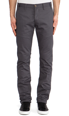 Rogue Territory Officer Trouser in Grey