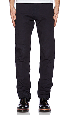 Rogue Territory Officer Trouser ISC in Indigo Selvedge Canvas