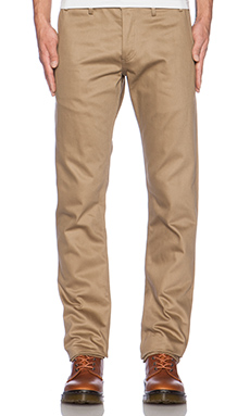 Rogue Territory Officer Trouser in Bronze