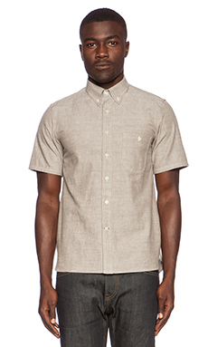 Rogue Territory Jumper Button Down in Grey