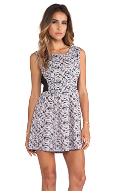 RVCA Woodruff Dress in Periwinkle