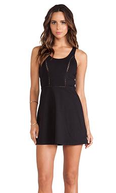 RVCA Silverleaf Dress in Black